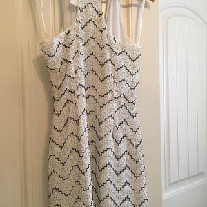 Parker Dresses - Parker NWT Women's Black and White Sequin Beaded